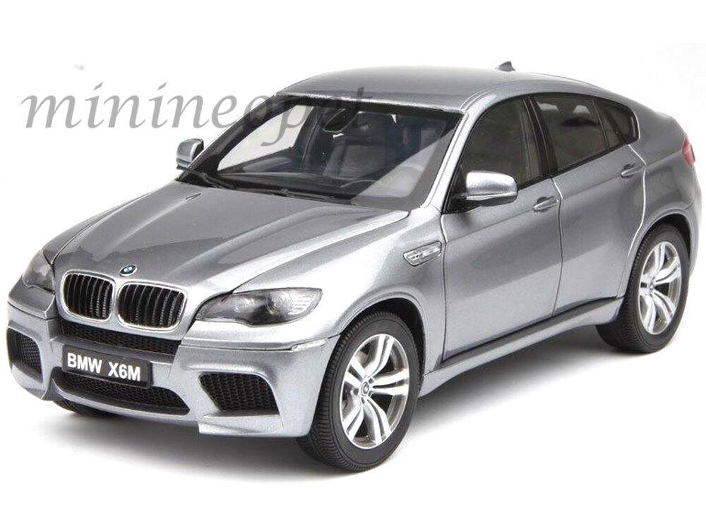KYOSHO 08762SG BMW X6 M X6M SUV 1 18 DIECAST SPACE gris