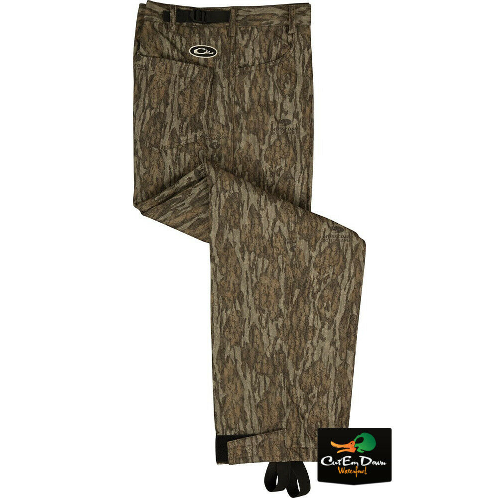 DRAKE WATERFOWL WATERFOWL DRAKE SYSTEMS MST WINDPROOF BONDED FLEECE CAMO PANTS 223ddd