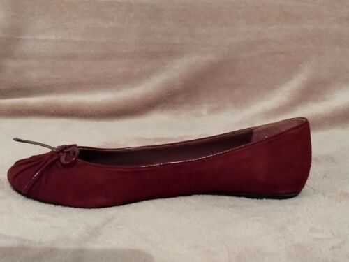 La Uk Rrp£75 Shoes Suede Redoute Flat Creation Sale Red Size 5 New qtnPzxgS