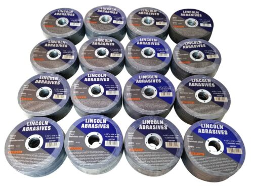 """400 Pack 4-1//2/"""" 1//16/"""" Cut-off Wheel 4.5 Cutting Discs Stainless Steel /& Metal"""
