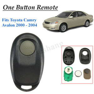 For Complete Toyota Camry Avalon Conquest 1 Button Remote Key