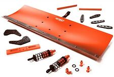 Integy Snow Plow Blade Kit Traxxas Summit 1/10 Scale RC 4x4 Monster Truck Red