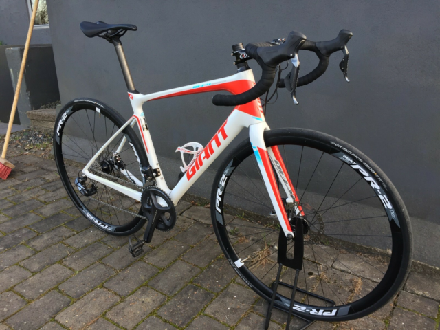 Herreracer, Giant Giant Defy 1 Advanced , 54 cm stel, 22…