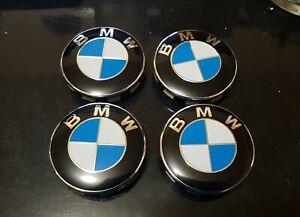 4x-Cache-moyeu-centre-de-roue-logo-BMW-68mm