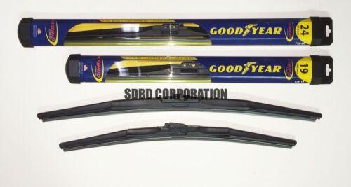 2009-2012 Volkswagen CC Goodyear Hybrid Style Wiper Blade Set of 2