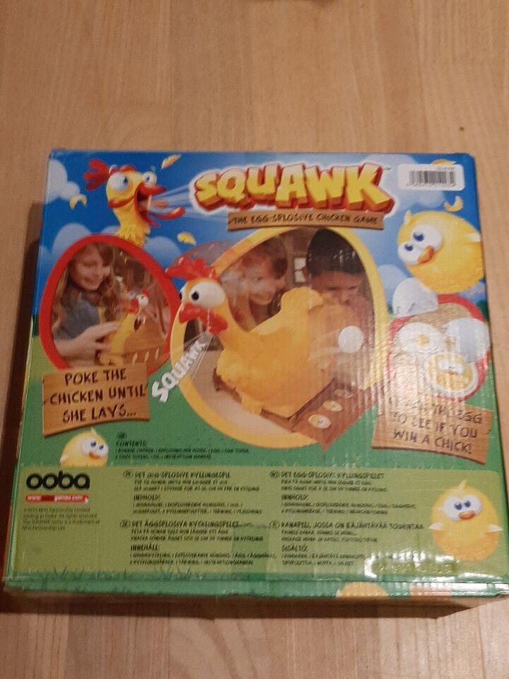 Squawk, Børnespil, andet spil