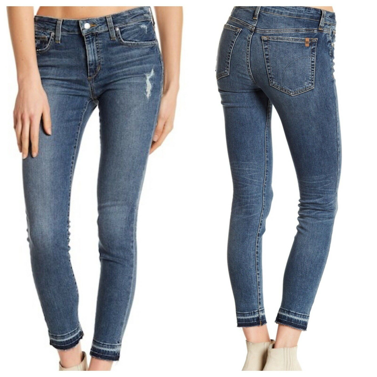 NWT Joes Jeans Released Hem Ankle Skinny Mia Glam style 26 27