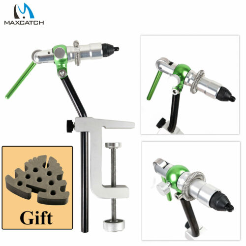 Maxcatch Rotary Fly Tying Vise Alloy Travel Vice