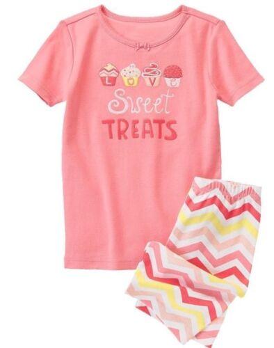 NWT Gymboree Girls Gymmies Sweet Treats Shorties Pajamas 18-24 2T 3 /& 7