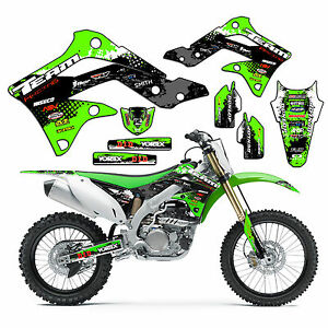 2003-2006 KAWASAKI KDX 50 KDX50 GRAPHICS KIT DECALS STICKERS PIT ...