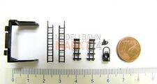 Ersatz-Teilesatz Tender z.B. für DR ROCO Dampflok BR 50 Spur H0 1:87 - NEU