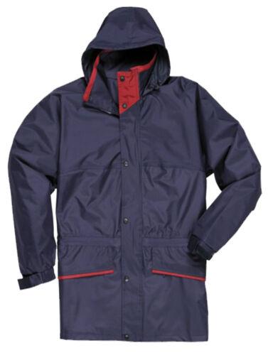 New Mens Portwest Galashiels Waterproof Windproof Jacket Work Outdoor Leisure
