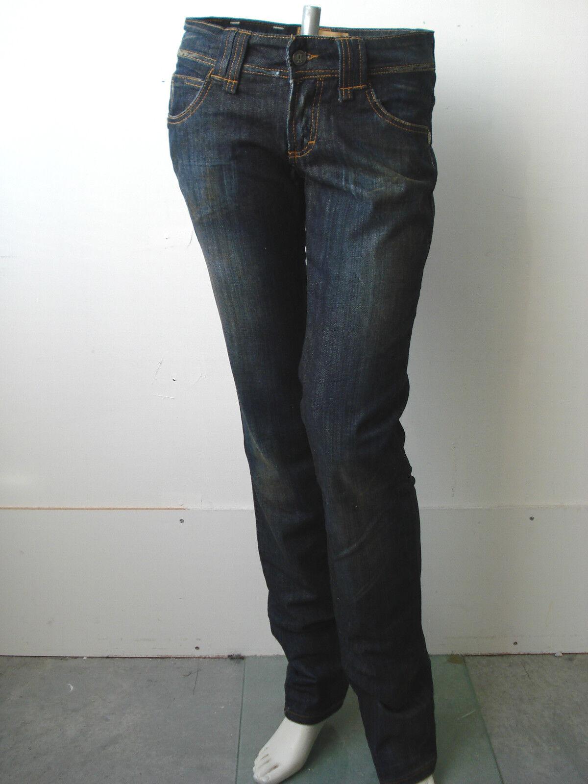 John Galliano Denim Hose Slim Slim Slim V B Röhren Jeans Neu cc214e