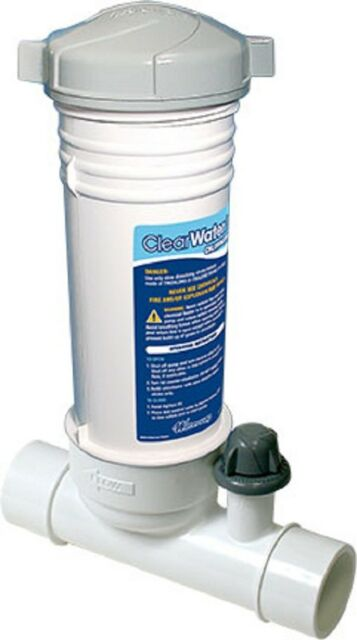 Waterway Clearwater In-line Automatic Chlorinator for in Ground Swimming  Pool