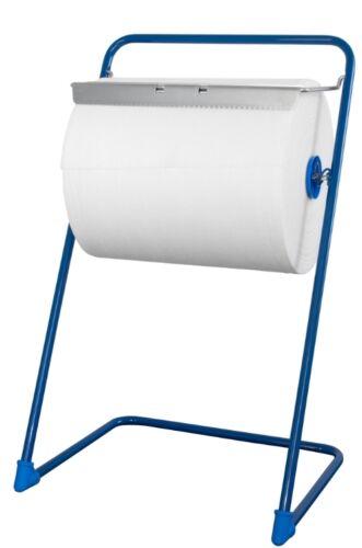 Putztuchrollenhalter Metall stabiler Bodenständer für Putzpapier