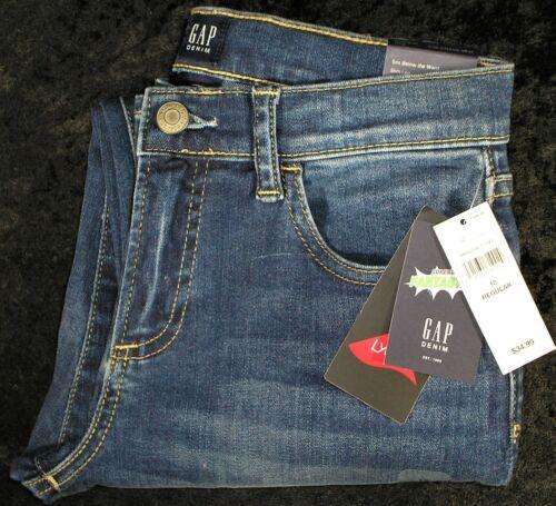 NWT Boys Gap Kids High Stretch Slim Leg Regular Fantastiflex Denim Jeans