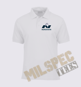 Nordhavn Yacht Crew Polo Shirt Moisture Wicking and Quick Drying Lightweight