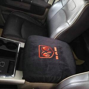 pickup truck center console armrest cover for dodge ram 1500 2500 3500 4500 5500 ebay. Black Bedroom Furniture Sets. Home Design Ideas