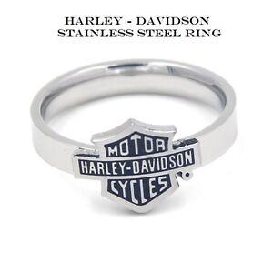 Harley-Davidson-RING-Polished-Stainless-Steel-Unisex