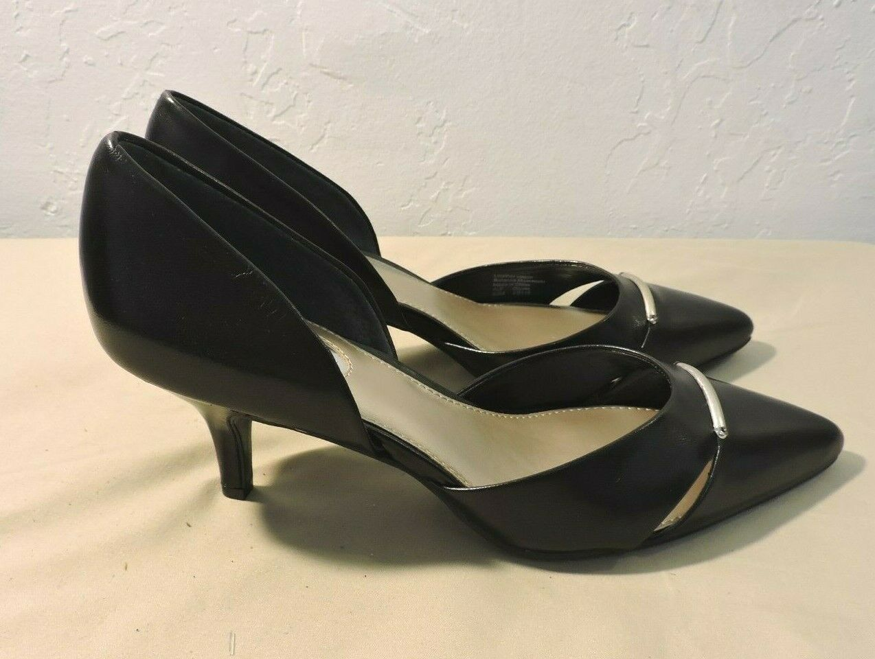 Alfani CORRIN Women's Shoes Heels & Pumps pointed Toe Black Size 8.5 M US