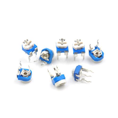 20pcs RM065 RM-065 potentiomètre trimmer potentiomètre à résistance variable w