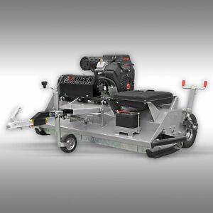 Traktor 22 PS Motor Schlegelmulcher Jansen AT-145 Mulcher Mähwerk Quad ATV