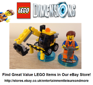 Genuine-LEGO-Dimensions-LEGO-Movie-Emmet-71212-Trusted-Premium-eBay-Seller