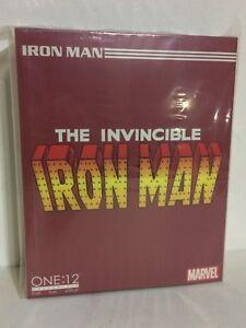 Nouvelle figurine authentique Mezco Toyz One: 12 Collective Marvel Iron Man