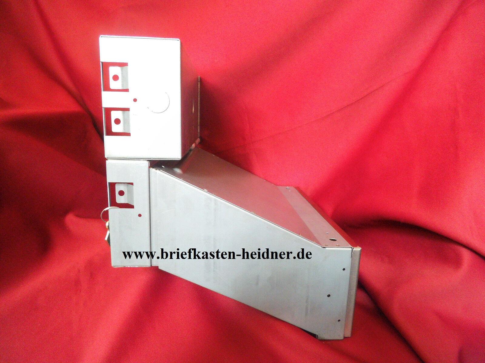 Renz Mauerdurchwurf Briefkasten 1 tlg. Durchwurf 300 mm Funktionskasten KBH04