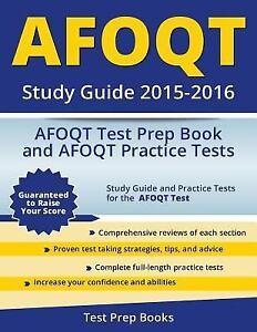 afoqt study guide 2015 2016 afoqt test prep book and afoqt rh ebay com afoqt study guide books afoqt study guide books