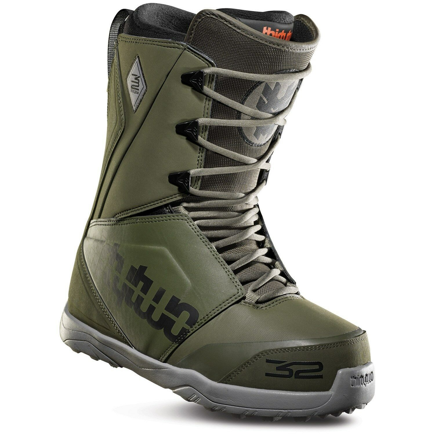 ThirtyTwo 32 - Lashed    2019 - Mens Snowboard Boots   Olive  the latest