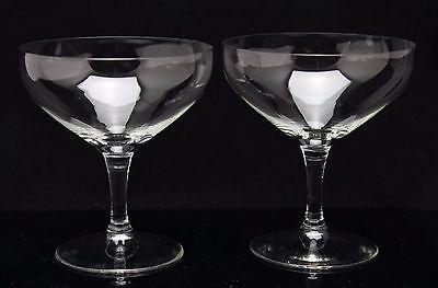 Champagne Coupe glass design K.P.C.de Bazel B glad 2x art deco 1917 crystal