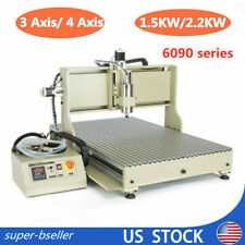 New Listingusb 4 Axis 15kw22kw 6090 Vfd Cnc Router Metal Drill Mill Engraving Machine