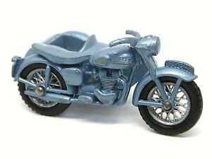 Matchbox-Lesney-No-4c-TRIUMPH-T110-Motocicleta-Y-Coche-Lateral