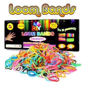 Loom Starter Set inkl. 600 Bands Gummibänder Bandz ,Haken ,Webrahmen LB60025