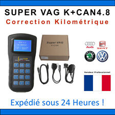 SUPER VAG K+CAN V4.8 - Correction KM Reprogrammation AUTOCOM TACHO PRO DIGIPROG