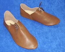 Hecho a mano en el Reino Unido-Zapatos Fieltro Damas Renacimiento Larp Medieval Histórico