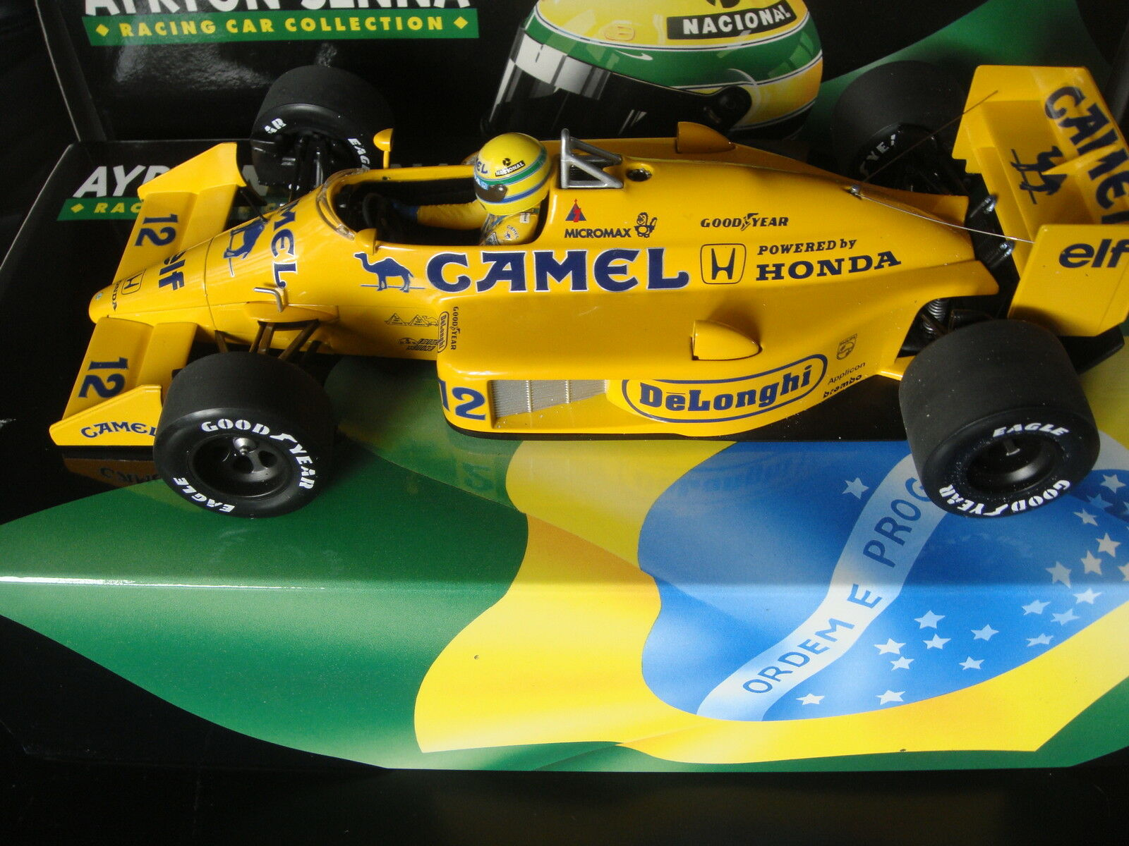 Senna Minichamps LOTUS T99 TEAM CAMEL 1987