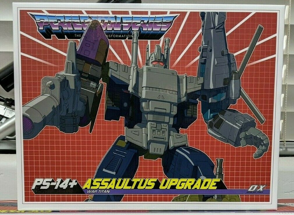 Transformers Mastermind Creations Oculare MAX PS14 assaultus  Upgrade Kit NUOVO