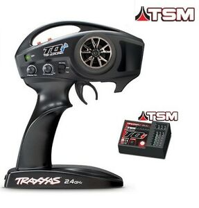 Traxxas Tqi Tsm 2,4 Ghz Top Système De Contrôle A Distance Qualifié Avec -