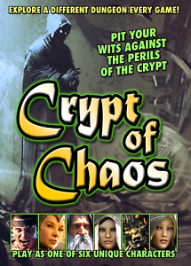 Crypt of Chaos Tabletop Card & Board Game - Brand New from Crystal Dagger Games
