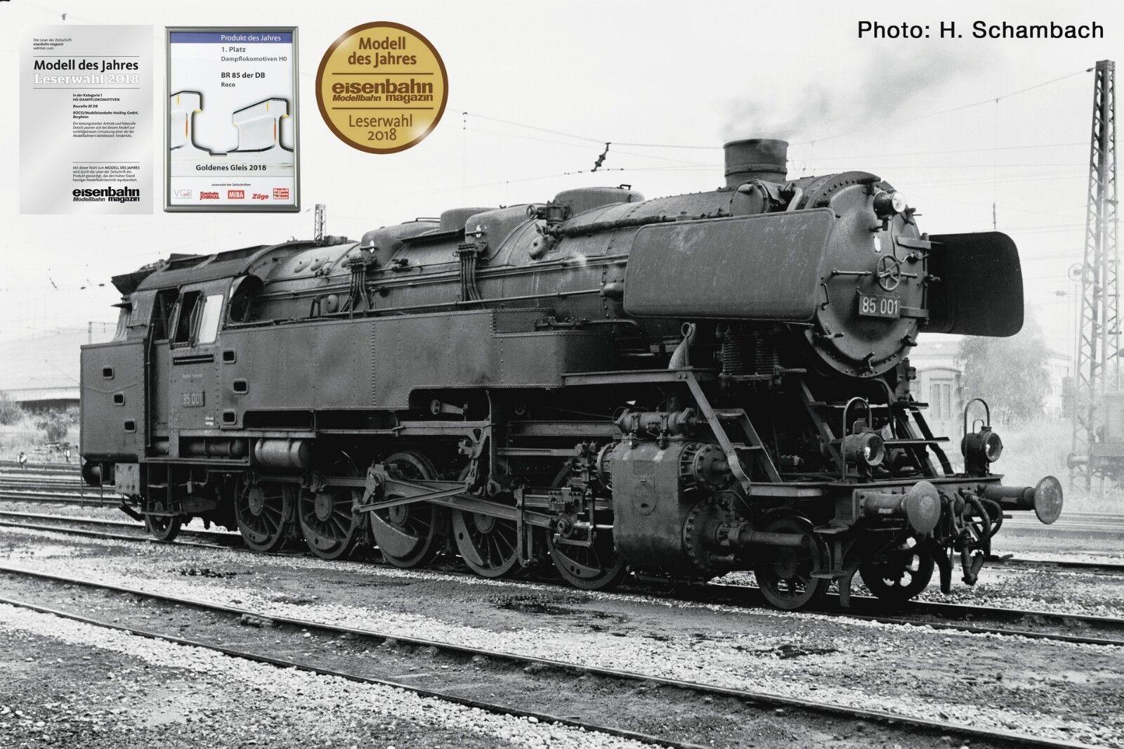 ROCO h0 78267 locomotiva BR 85 delle DB  AC per   Digital + Sound  - NUOVO + OVP