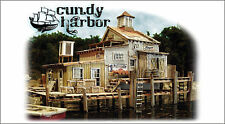 Bar Mills 1640 HO Dock House at Cundy Harbor Laser-Cut Wood Kit