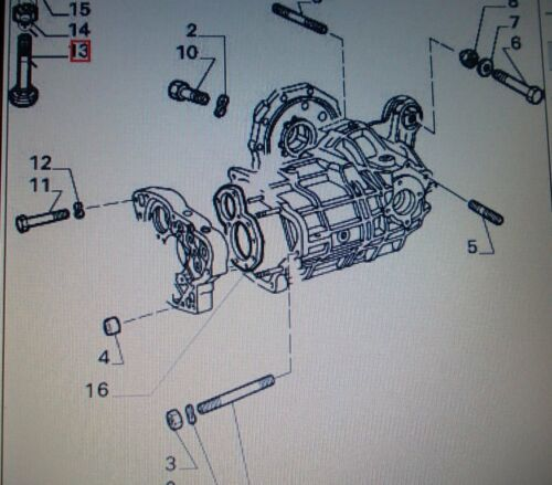 TAMPONE VITE SCATOLA CAMBIO ALFA ROMEO ALFETTA GTV 75 TS V6 GEAR SCREW