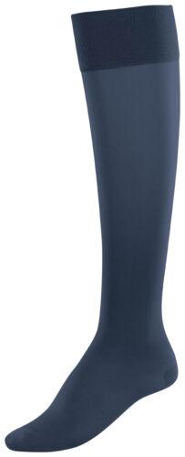 Item M6 Super Smooth Matte 50 Denier Knee Highs Semi Opaque Support Socks
