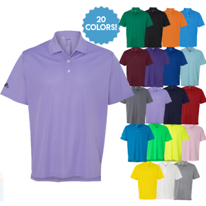 ADIDAS-Mens-Dri-Wick-Climalite-GOLF-Polo-Sport-Shirts-Size-S-3XL-NEW-A130