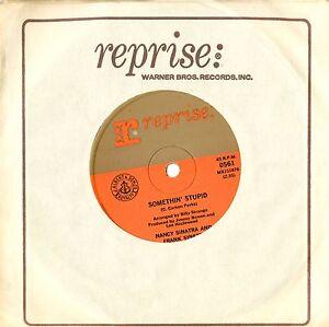 Frank Amp Nancy Sinatra Something Stupid 7 Quot Vinyl Single