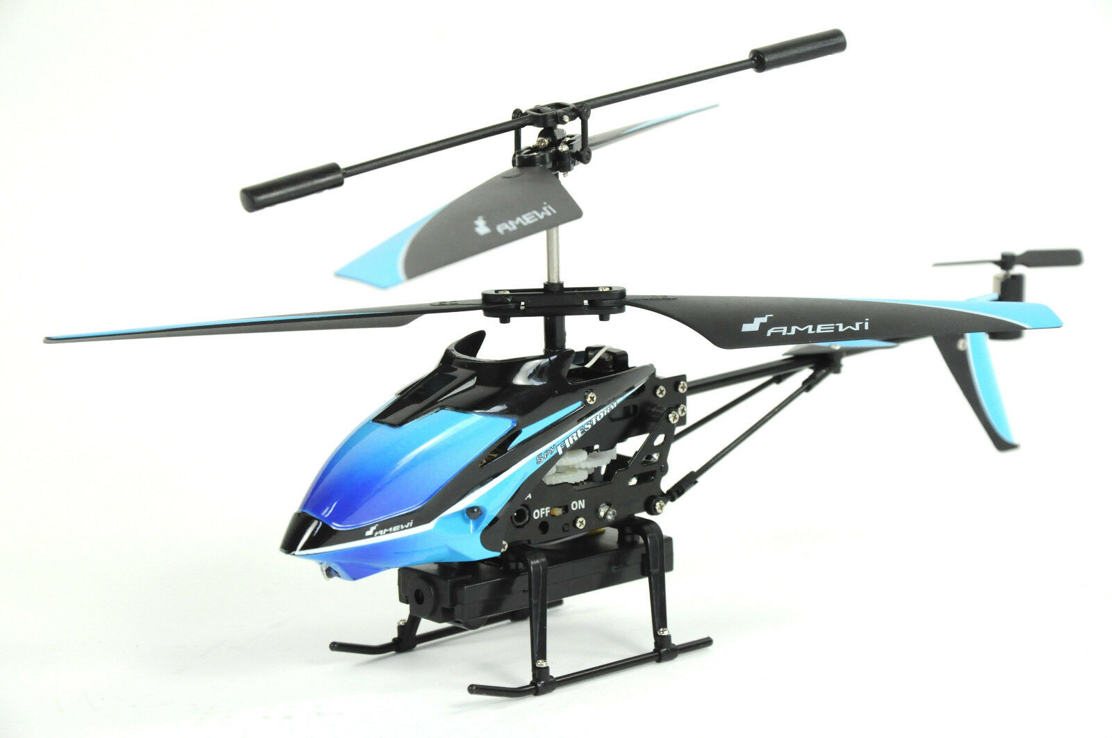RC Helikopter Firestorm Spy mit Videokamera IR / 3 Kanal / RTF / Micro SD/ 512MB