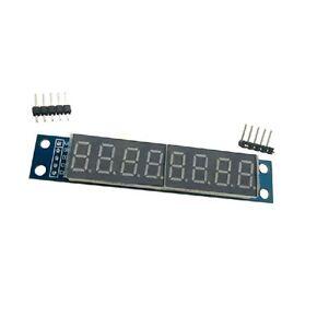 10PCS MAX7219CWG  8-Digit  Digital Tube Display Control Module Red For arduino
