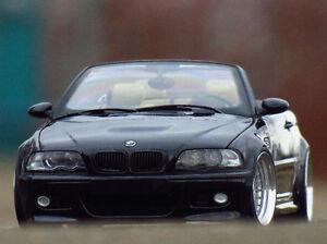 1 18 Tuning Bmw E46 M3 Cabriolet Phantom Black Alpina Echtalu Pvc